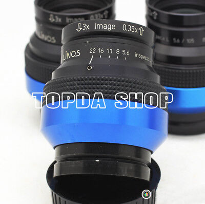 1PC LINOS Inspec.x L 105/5.6 High resolution industrial lens#SS