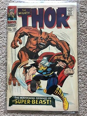 THOR (Marvel Comics) # 135 (1966) - VG
