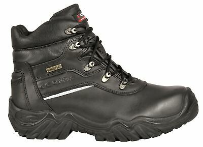 Cofra Parnaso S3 Black Gore-Tex Mens Lace Up Safety Toecap Midsole Work Boots