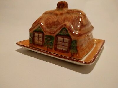 Westminster Cottage Ware Butter Dish Pottery, Porcelain & Glass Cottage Ware