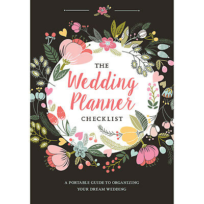 A5 Floral Wedding Planner Book Diary Organiser Engagement Gift
