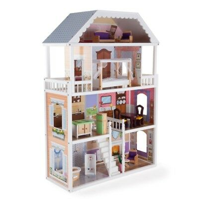 3-Storey Wooden Kids Doll House