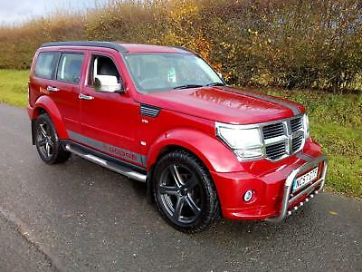 2007 Dodge Nitro 2.8Crd Se 4X4 Six Speed Manual, Red, Aircon