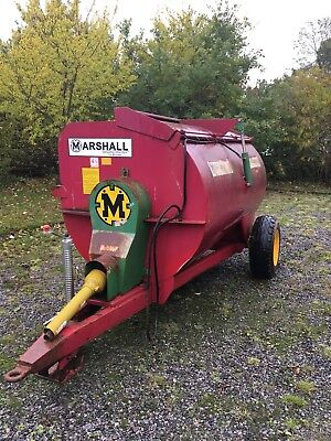 Marshall Muck Spreader 4 1/2 cubic yards