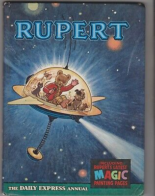 RUPERT ANNUAL 1966 in Very Good condition, unclipped and belongs to not filled.