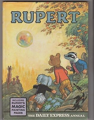 RUPERT ANNUAL 1968 in Very Good condition, unclipped and belongs to not filled.