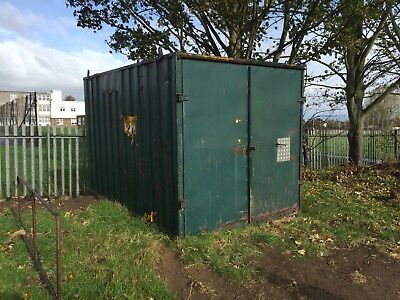 12ft shipping container