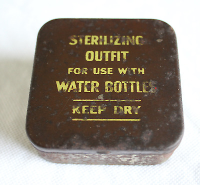 Original Ww2 Water Sterilising Kit With Full Contents! Excellent Condition!!
