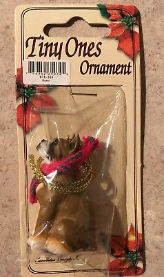 Boxer Ornament With Cropped Ears Mini Dog Conversation Concepts New