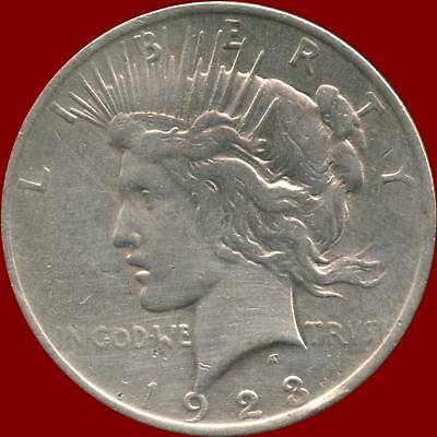 "1923 United States Silver ""Peace"" Dollar (26.73 Grams .900 Silver)"