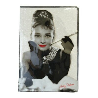 Glitter A5 Notebook - Audrey Hepburn  -Fun  Journal