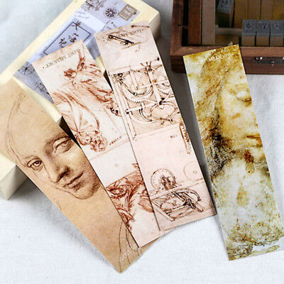30Pcs Retro The Lost Memory Bookmark for Book Marker Stationery Souvenir Set CB