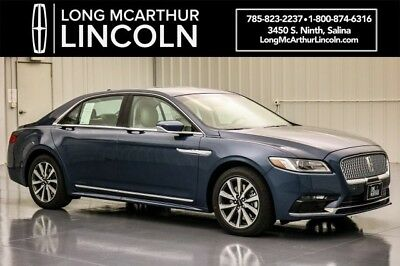 2018 Lincoln Continental PREMIERE INTELLIGENT AWD 3.7 V6 SYNC 3 MSRP $48085 LINCOLN SOFT TOUCH SEATS LINCOLN CONNECT 4G MODEM WITH WIFI CAPABILITY SYNC 3