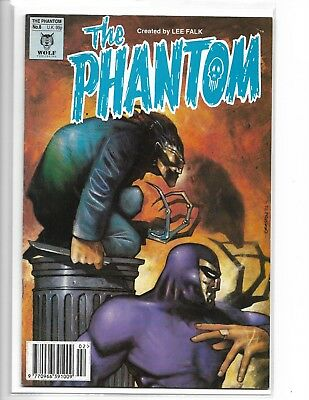 The Phantom #8 Lee Falk Wolf Publishing