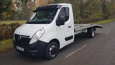 4259fa1c50068a 2011 61 Vauxhall Movano 2.3 Cdti Lwb Double Wheel3.5 Tonne Recovery Truck