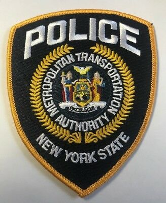 MTA Metropolitan Transportation Authority Police New York NY State Cloth Patch