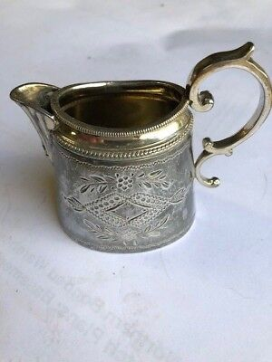 Silver jug with Laurel motif - selling for a friend