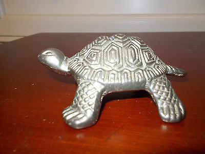 Brass Turtle - Antique - Vintage - Collectible - Flea Market - D27