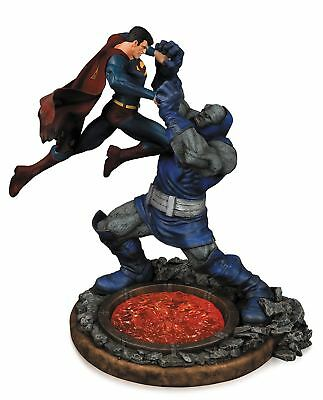 DC Comics Statue Superman vs Darkseid Statue Second Edition Collectible Figure