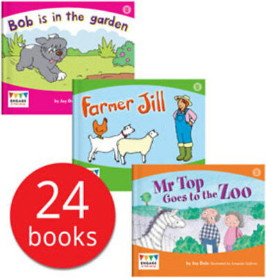Engage Literacy Wonder Words Collection - 24 Books