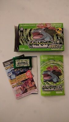 Pokémon Green Leaf Jap Game Boy Adv