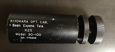 Kiyohara Optics- Beam Expander Tele -  25x - No Collimation Lens Model 30 - 100
