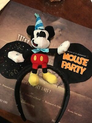 Disney Disneyland Paris Worlds Biggest Mouse Party Mickey Mouse