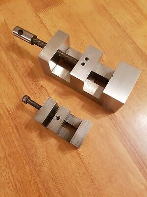 Engineers Vice with Hardened Steel Jaws Used