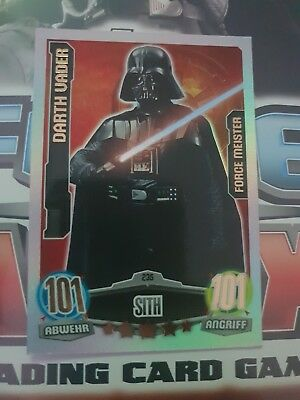 Force Attax Serie 1 Movie Edition - Force Meister Nr. 235 Darth Vader