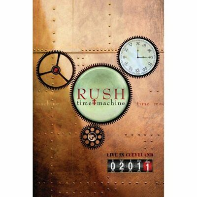 NEW - Rush: Time Machine 2011 - Live in Cleveland