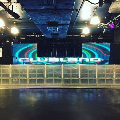DJ LED Booth, Disco Video Wall Screens Hire