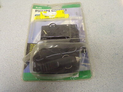 NEW  Phillips Magnavox CD To Cassette Adapter Kit PM62051   *FREE SHIPPING*
