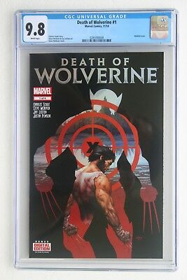 Death of Wolverine 1 (CGC 9.8) NM/MT (0285090008) Charles Soule story
