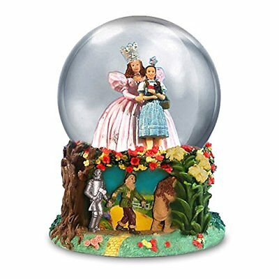 The Wizard of Oz Glinda and Dorothy Water Globe by San Francisco Music Box 84297