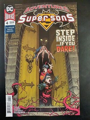 of 12 ADVENTURES of the SUPER SONS #4 ~ VF//NM Book 2019 DC Universe Comics