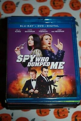 The Spy Who Dumped Me/ BLU-RAY DISC, CASE AND ARTWORK ONLY! NO DVD OR DIGITAL!