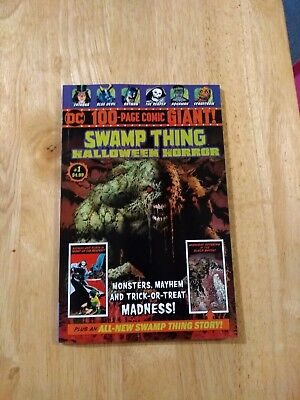 DC 100 PAGE COMIC GIANT SWAMP THING HALLOWEEN HORROR #1 Walmart Exclusive