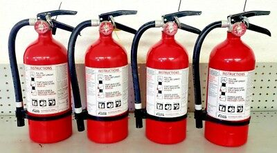 Fire Extinguisher ABC Dry Chemical 2A10BC  - Kidde - Rechargeable - Four Pack