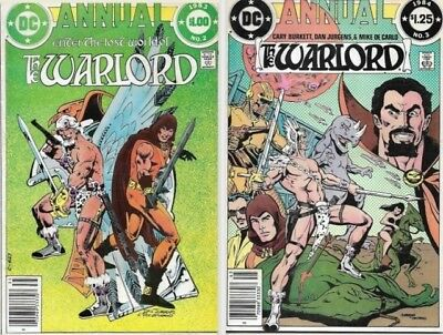 ENTER THE LOST WORLD OF THE WARLORD | 1980's DC Comic series | 5 Issues