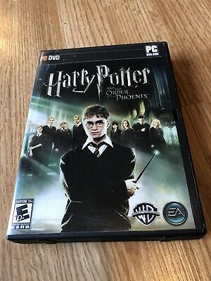 Harry Potter Order Of The Phoenix Pc Dvd Game ES