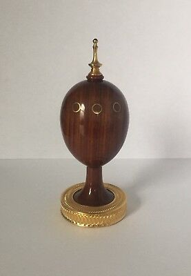 Limited Edition Theo Faberge Wooden Scribe Egg