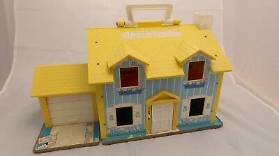Fisher Price Play Family House - Puppenhaus 60er
