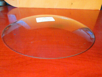 "Antique Mantle Shelf Wall Replacement Convex Glass 5-13/16"" Clock Parts (300A25)"