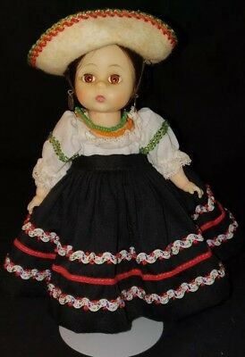 Vintage Madame Alexander  MEXICAN BENT KNEE 8""