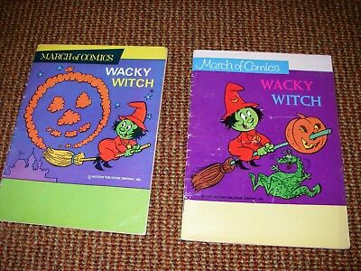 march of comics wacky witch 2 issues