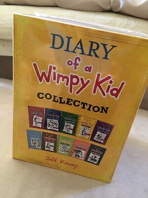 NEW Diary of a Wimpy Kid Collection - 10 Books (Collection) - 9780141385839