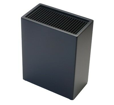 NEW IconChef Universal Knife Block Rectangle Black
