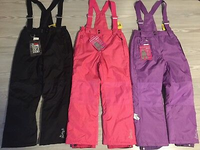Weatherproof 32 Degrees Girls' Ski  Boarder Suspender Snow Bib Pants