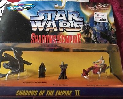 1996 Galoob Star Wars Shadow Of The Empire Ii Micro Machines ( *new* )