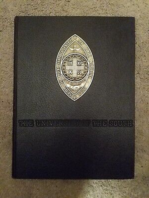 1966 University Of The South Yearbook Sewanee Tennessee